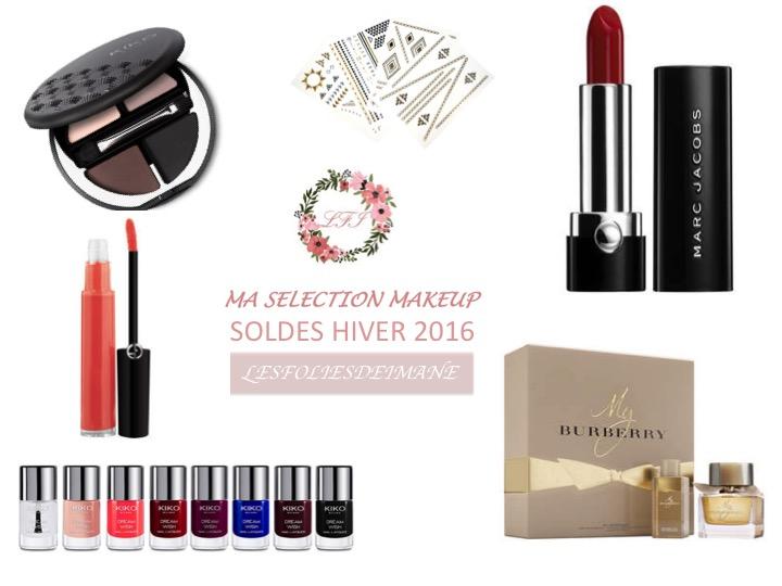 Soldes Janvier 2016 : Ma sélection Makeup<3