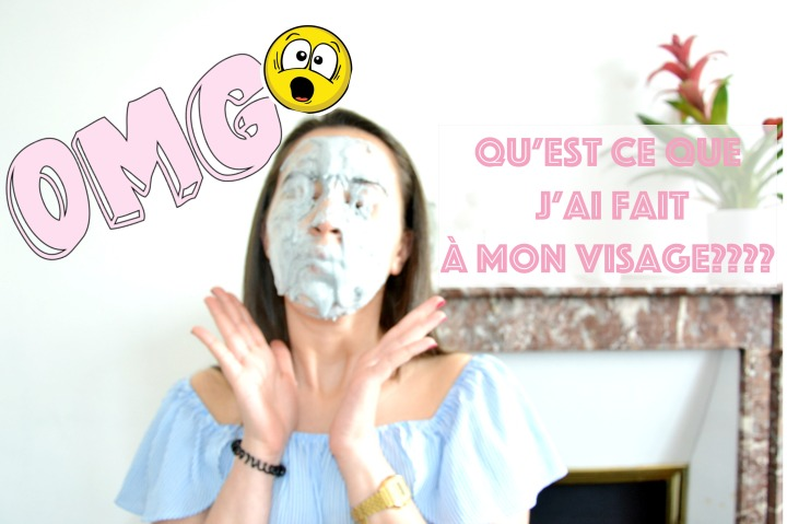 Je teste un masque Très bizarre!!