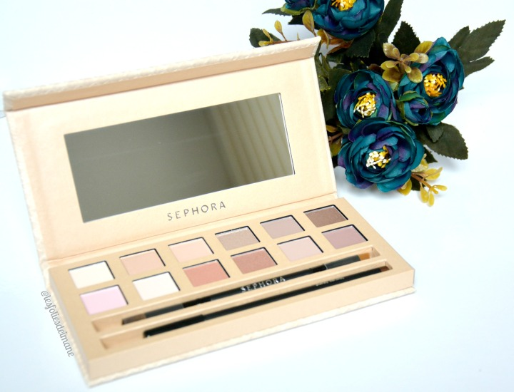 Revue: La It Palette Délicate Nude de Made in Sephora (Swatchs)
