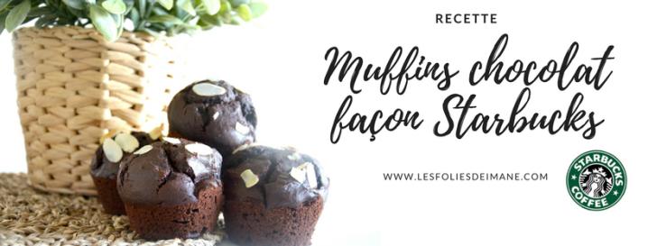 Recette : Muffins chocolat façonStarbucks
