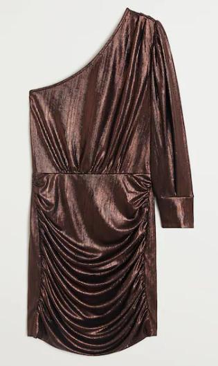 Robe en crêpe MANGO 39,99€