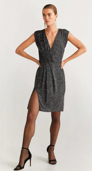 Robe maille jaspée MANGO 35,99€