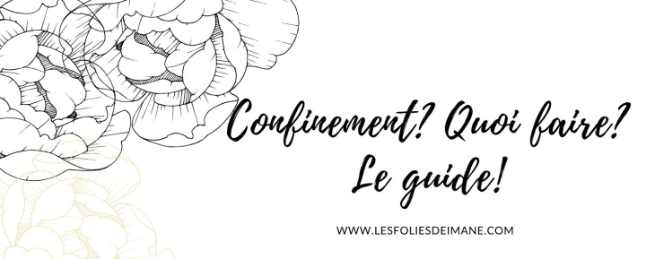 Confinement [Corona Virus] : Quoi faire? le guide!